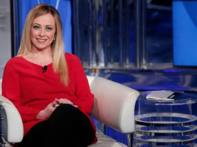 """Giorgia Meloni: """"Sono stata la babysitter della figlia di Fiorello"""""""