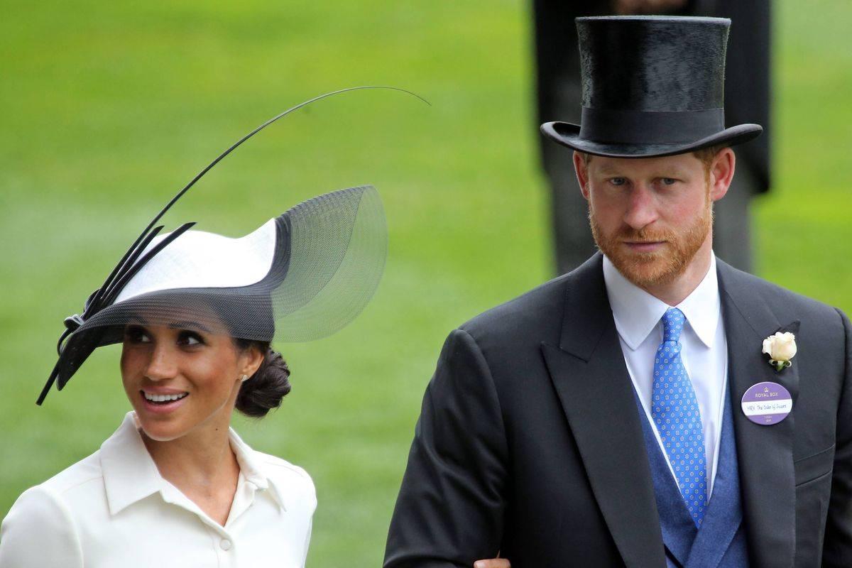Harry d'Inghilterra Meghan Markle