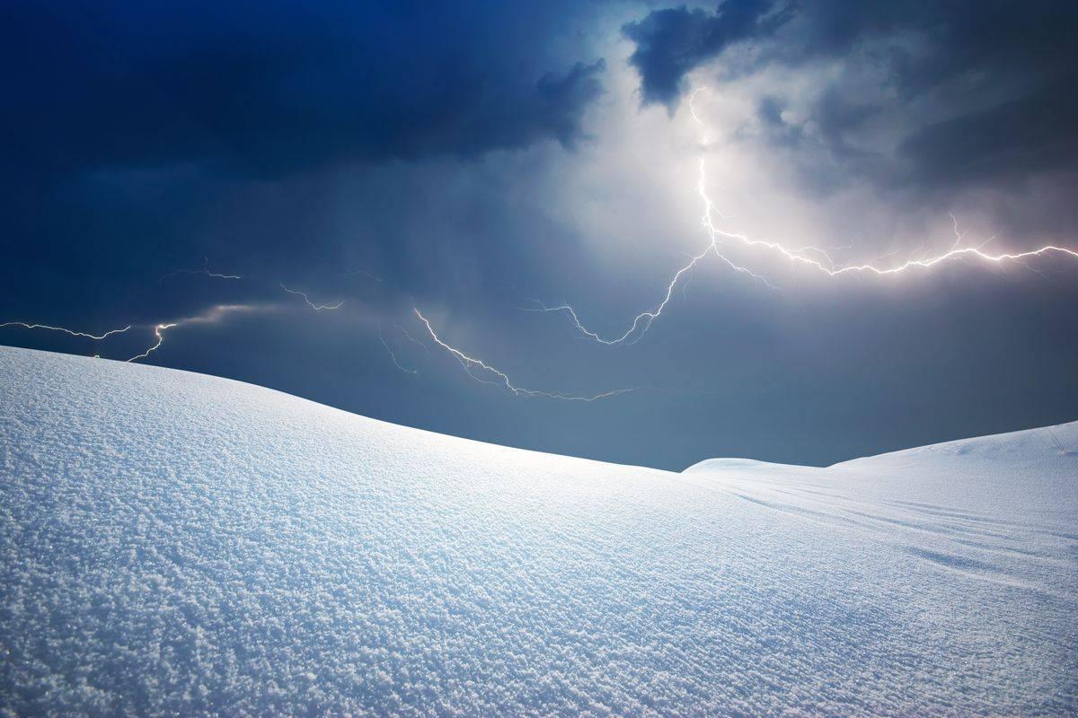 temporale neve