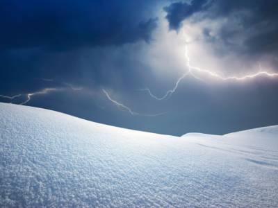 Che cos'è il temporale di neve: un evento raro ma attuale