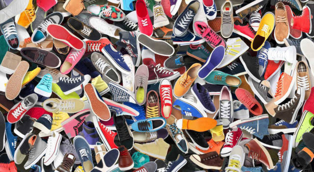 Come calzano scarpe Desigual