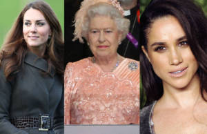 Regina Elisabetta Kate Middleton Meghan Markle
