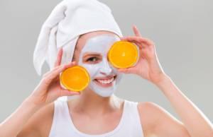 maschera all'arancia