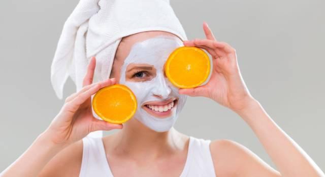 Come fare maschera arancia pulizia viso