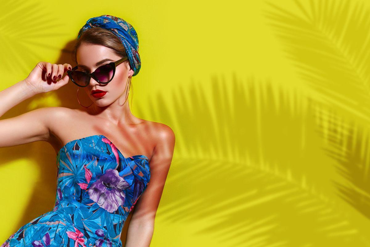 Vestito tropicale