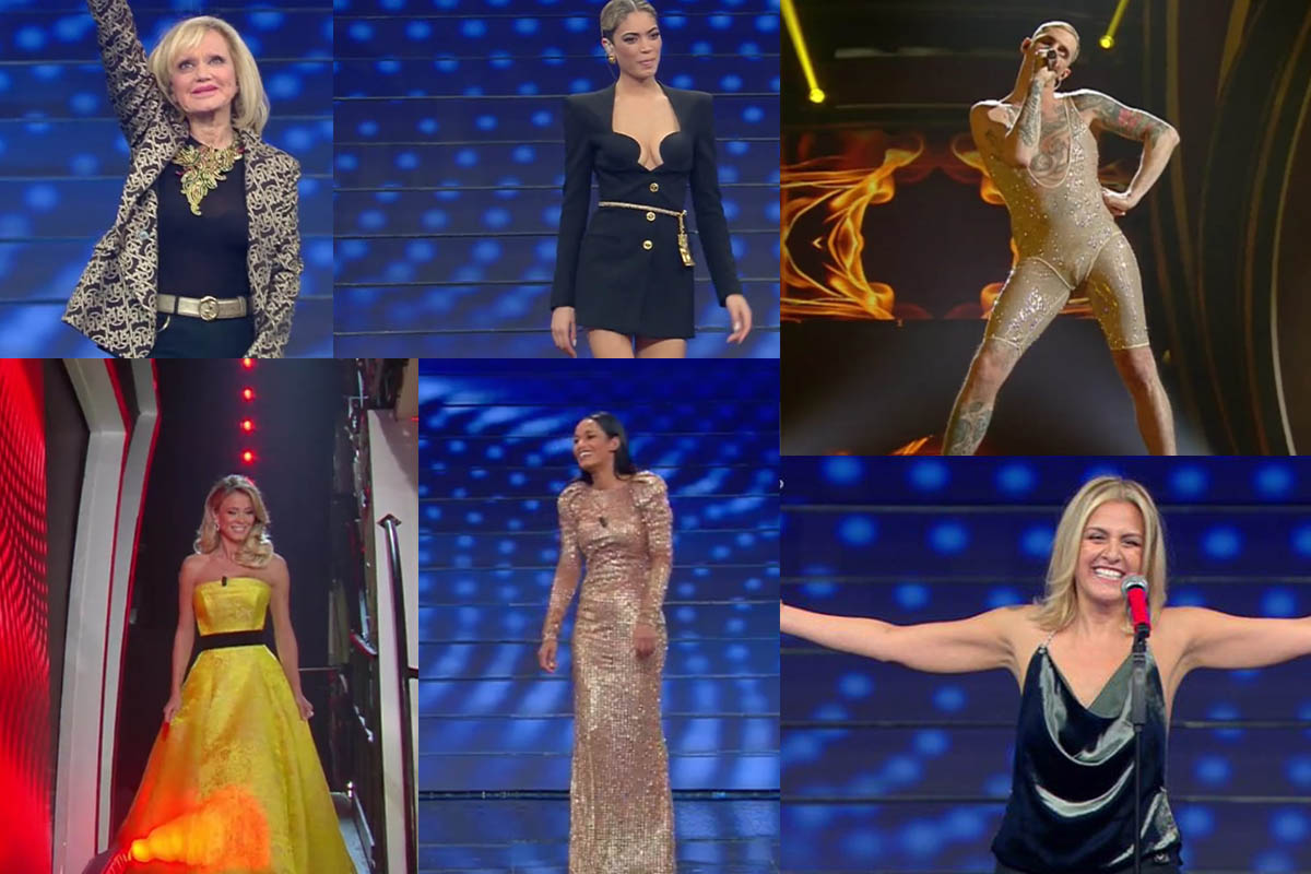 Look Sanremo 2020 Prima Serata