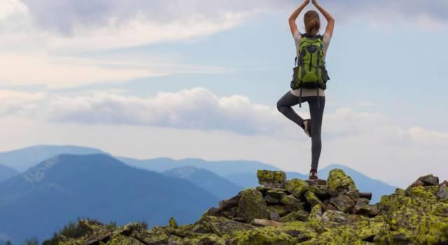 Posizione base bikram hot yoga