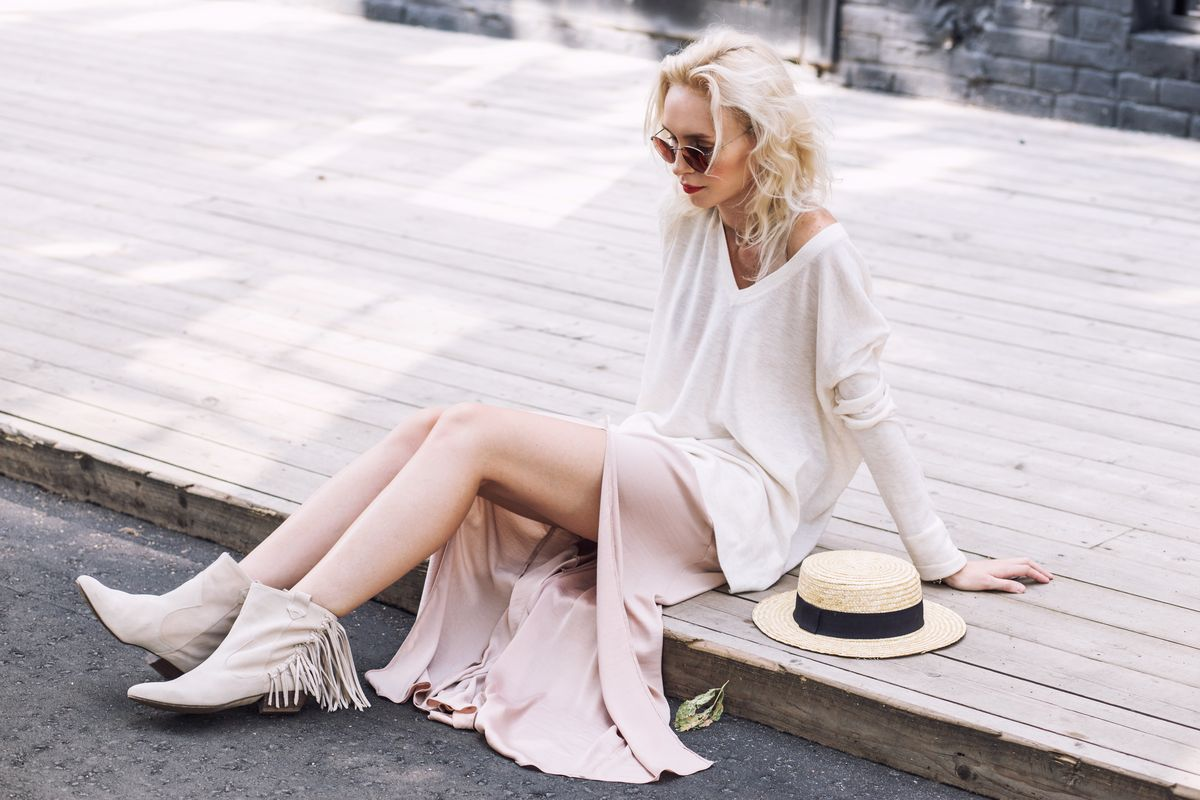 Stivali bianchi