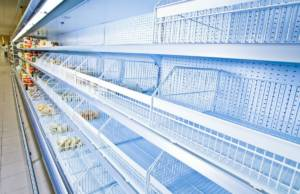Supermercato vuoto