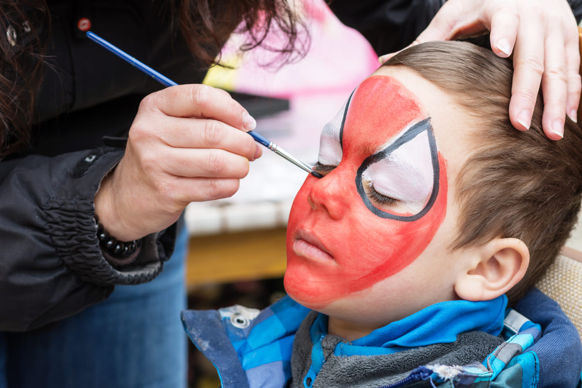 Trucco Spider-Man