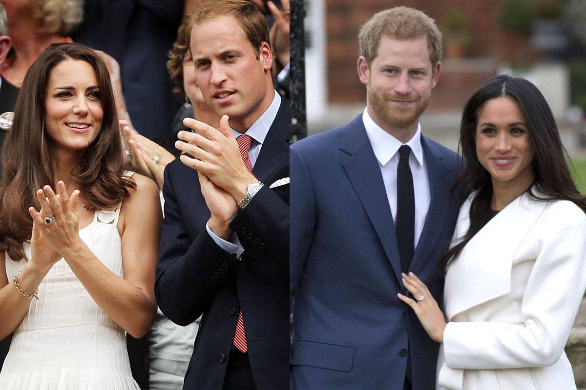 Principe Harry Meghan Markle Kate Middleton William