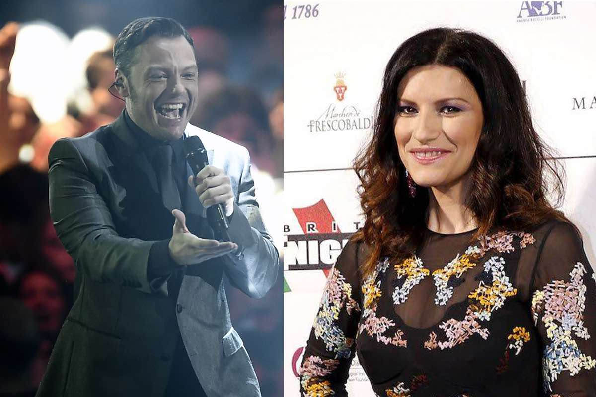 Tiziano Ferro Laura Pausini