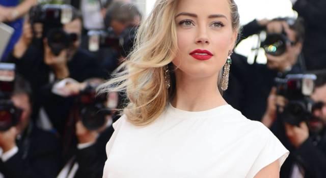 Nuovo colore capelli Amber Heard