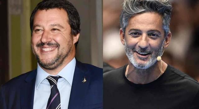 """Fiorello, la replica a Salvini: """"Puoi farlo pure in bagno…"""""""