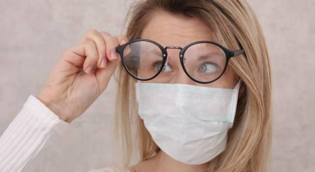 Occhiali appannati con la mascherina? 3 metodi per eliminare il problema!