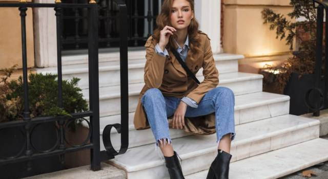 Trench donna streetstyle