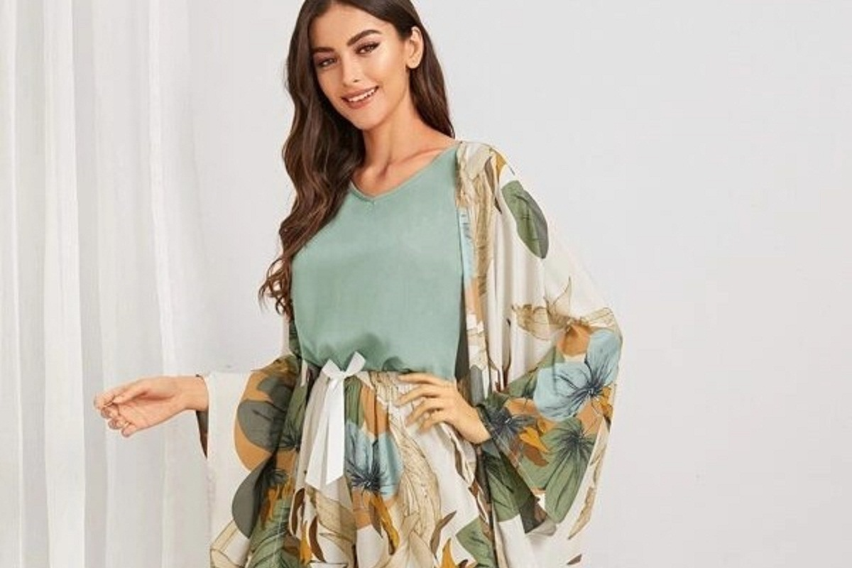 Shein pigiama kimono colorato