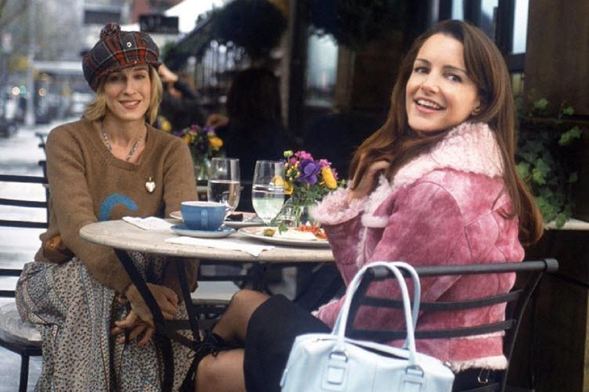 Charlotte e Carrie in Sex and the City