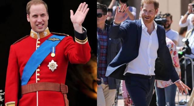 Harry e William hanno fatto pace?