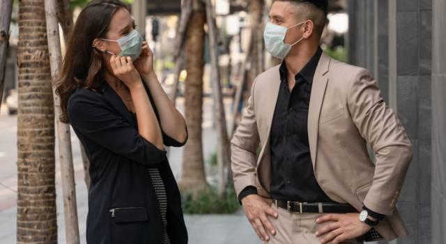 Mascherina all'aperto: dove non è obbligatorio indossarla?