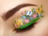 Eyeliner fiorato