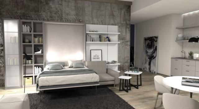 Appartamento piccolo? La soluzione è il letto a scomparsa