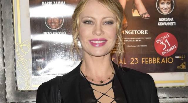 Anna Falchi sensuale e senza veli per la sua squadra del cuore
