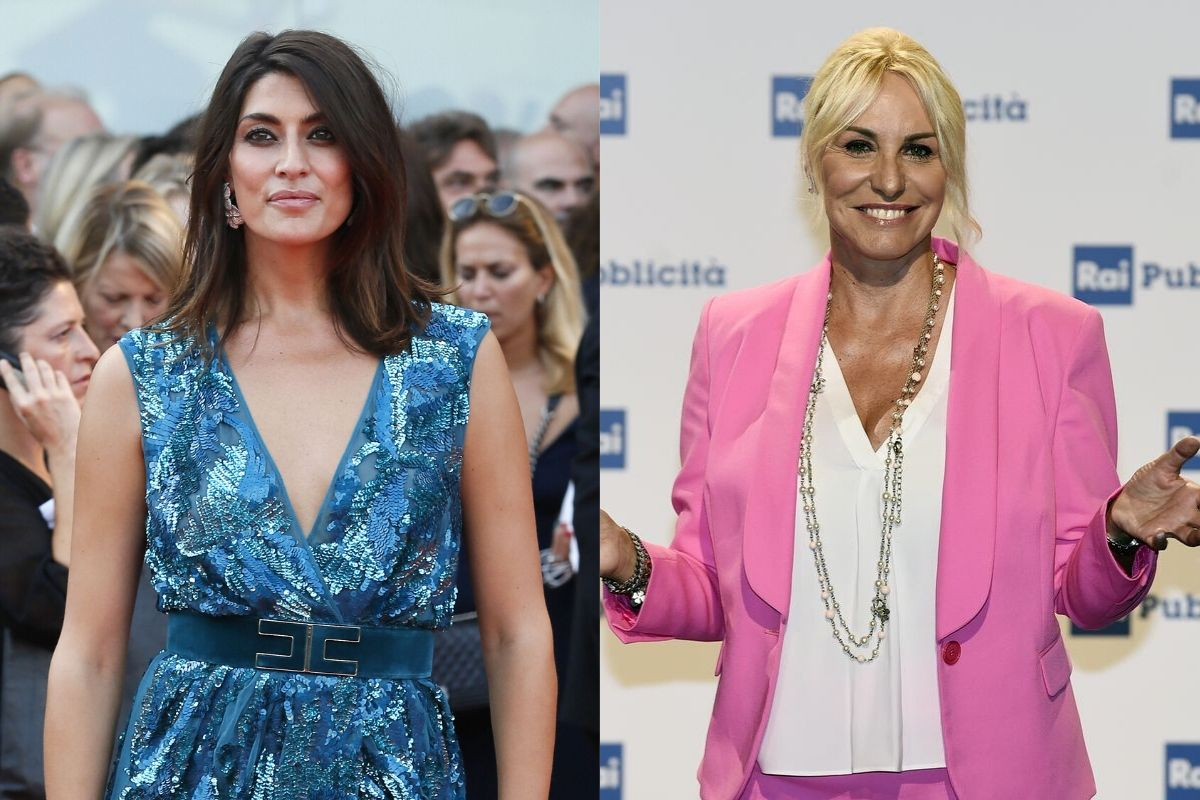Elisa Isoardi e Antonella Clerici