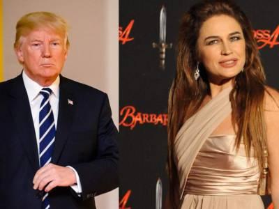 """Lory Del Santo e quelle cene con Donald Trump: """"Perché ho detto no?"""""""