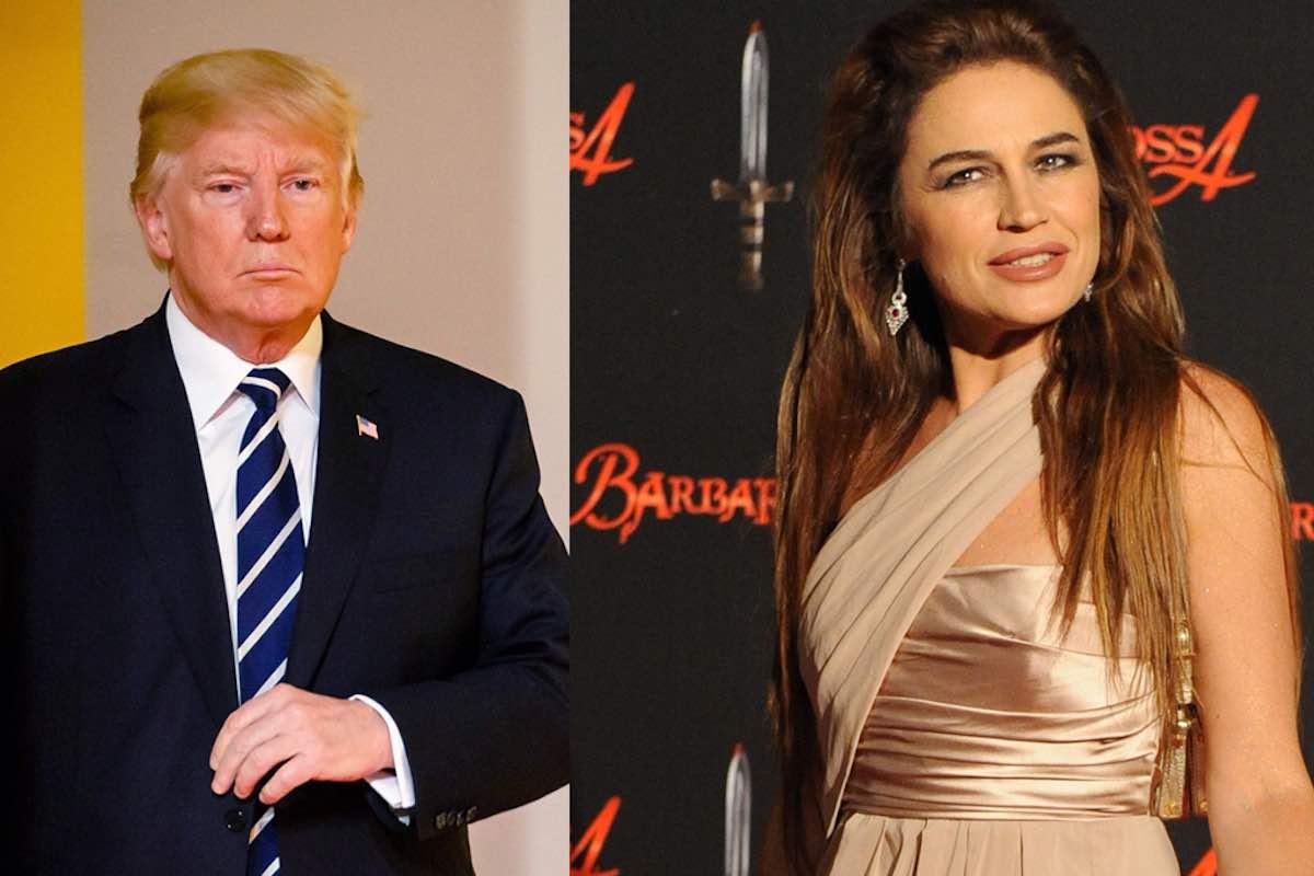 Lory Del Santo Donald Trump