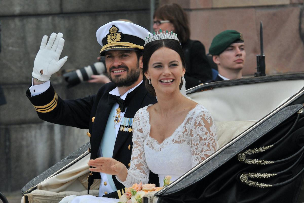 Sofia Hellqvist e Carlo Filippo di Svezia