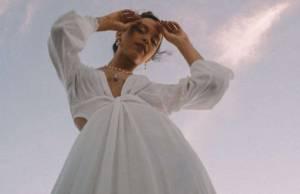 Vestito bianco estivo