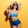 Il bikini è retrò e a vita alta per l'estate 2020, come Caterina Balivo