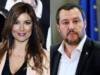 Selvaggia Lucarelli e Matteo Salvini