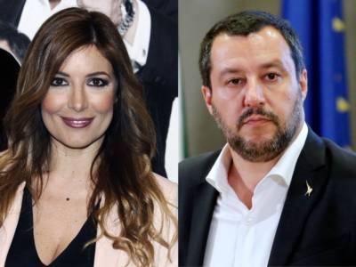 Il figlio di Selvaggia Lucarelli  (quindicenne) contesta Salvini: identificato