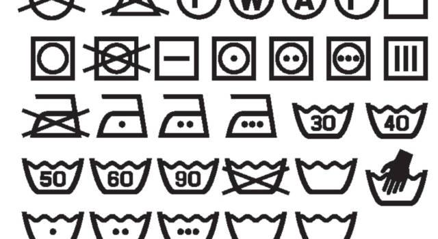 Simboli per lavaggio dei capi: una guida su come leggerli