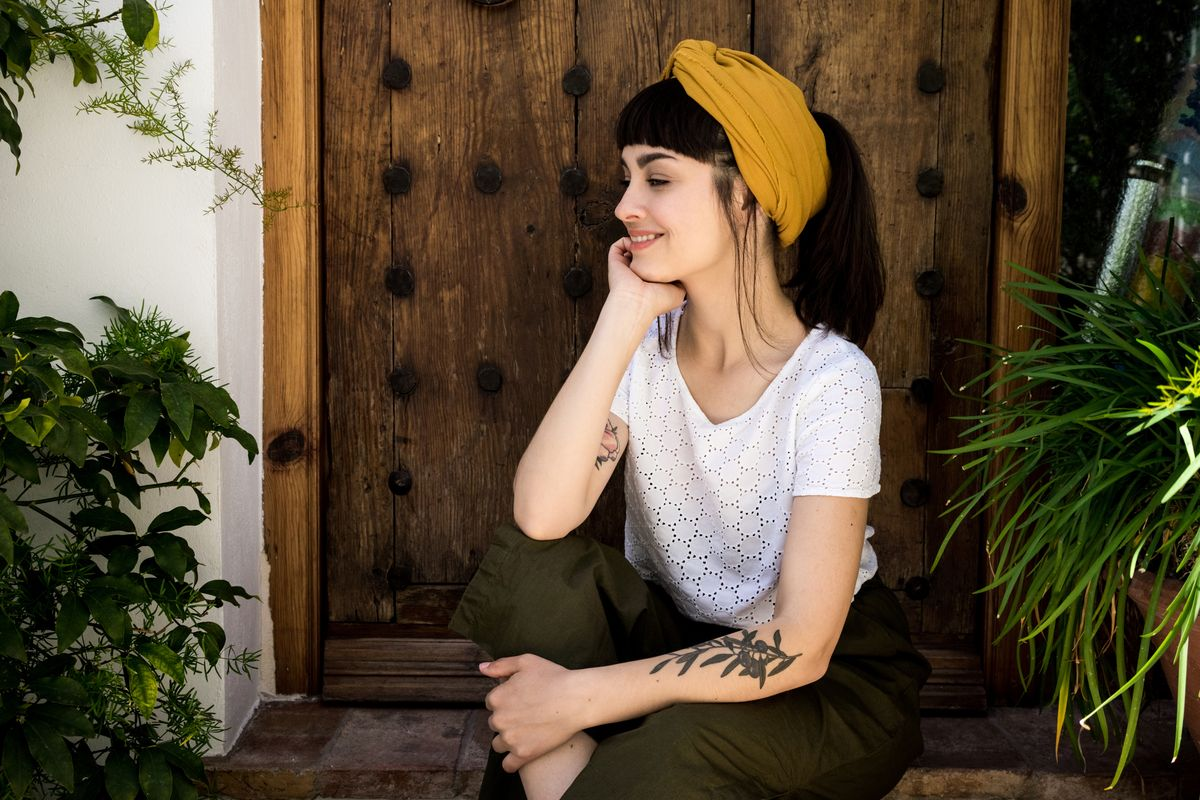 Foulard da indossare come turbante