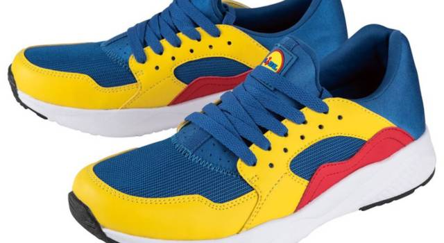 Le sneakers Lidl low cost (già sold out) sono le più desiderate dell'estate