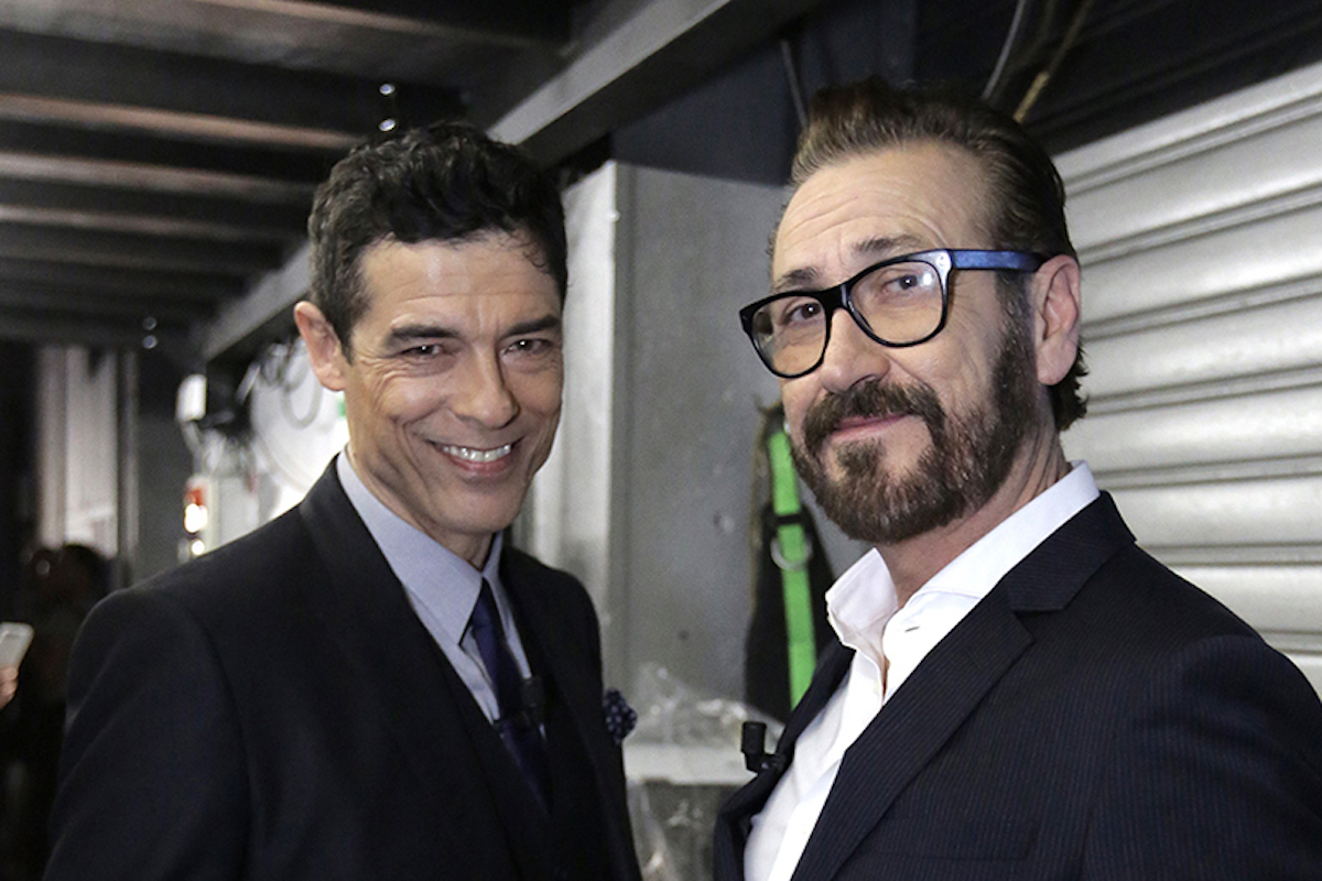 Alessandro Gassmann e Marco Giallini