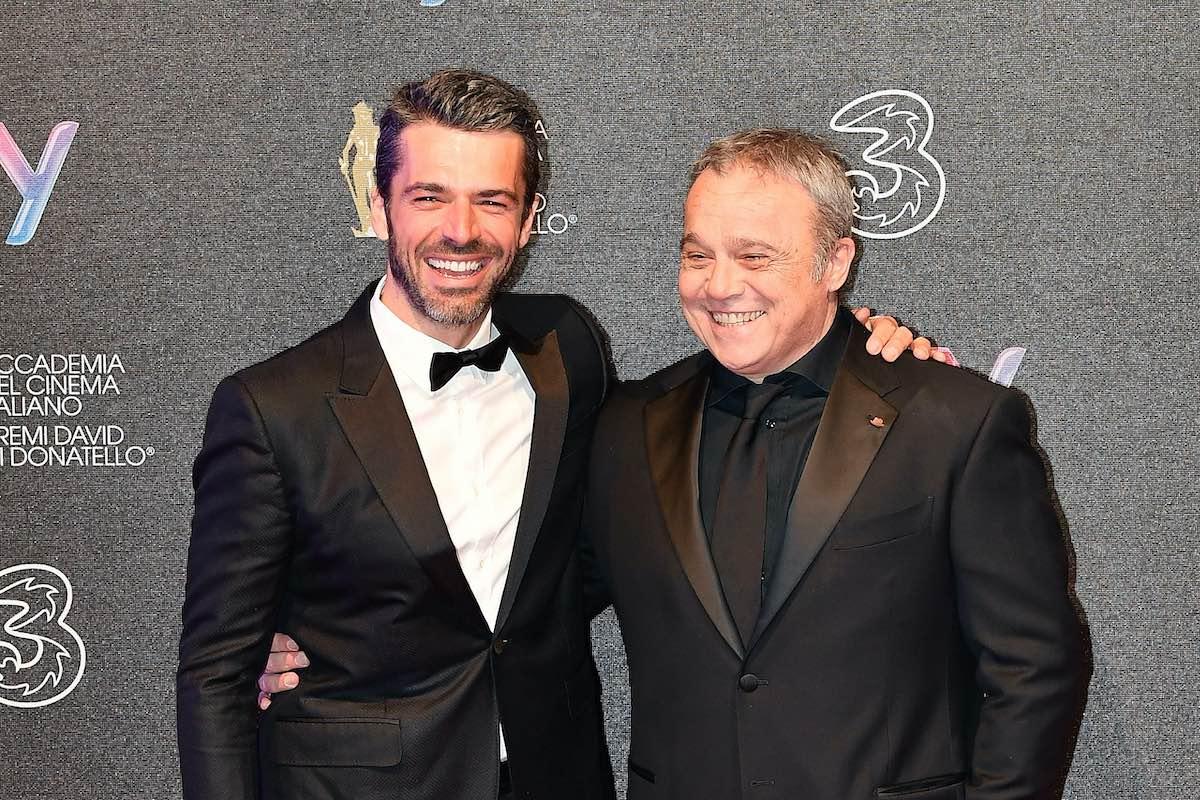 Luca Argentero e Claudio Amendola