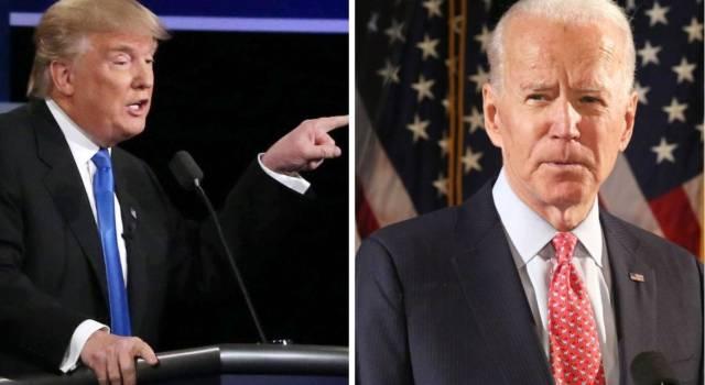 """""""Clown e bugiardo!"""": il dibattito tra Trump e Biden è una sequenza di insulti (e colpi bassi)"""