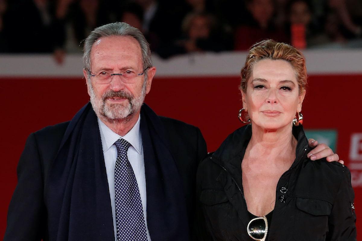 Roberto Zaccaria e Monica Guerritore