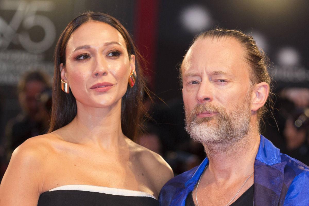 Thom Yorke e Dajana Roncione