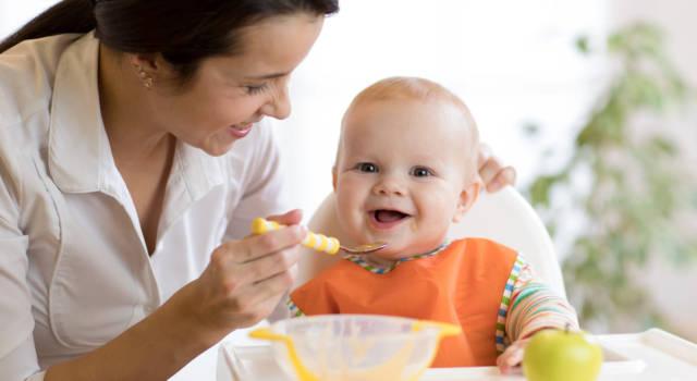 Quando dare la frutta al neonato