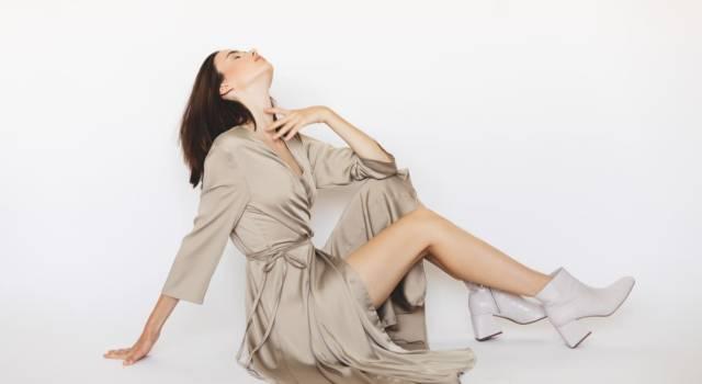 L'abito da sera è in kimono, come Laura Morante a Venezia 77