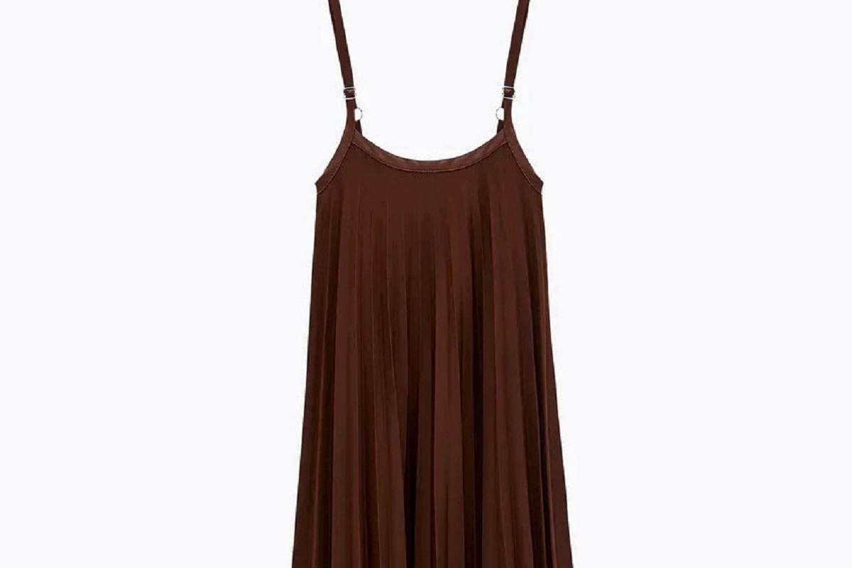 Gonna plissé vestito Zara