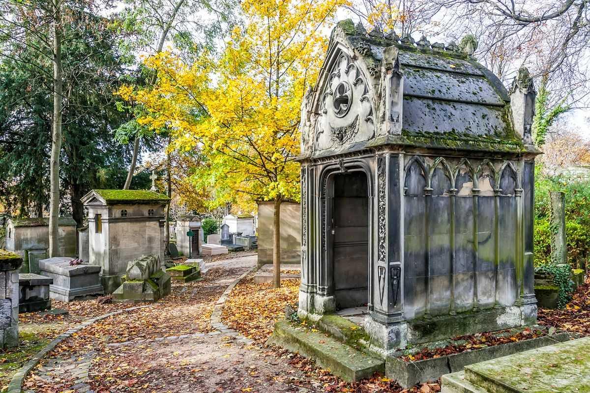 Cimitero Père-Lachaise a Parigi