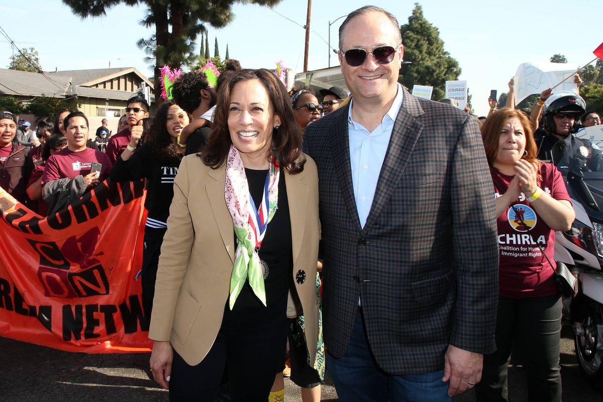 Douglas Emhoff e Kamala Harris