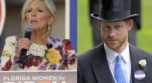 """Il Principe Harry """"amico"""" di Jill Biden? Il legame fa discutere"""