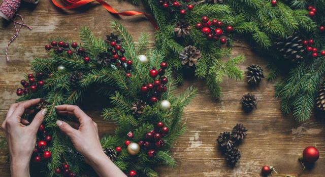 Ghirlande natalizie: ecco come farne di bellissime!